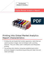 Printing Inks Global Market Analytics Report Released By The Business Research Company