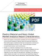 Plastics Material and Resin Global Market Analytics Report Released By The Business Research Company