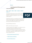 What is an Integrated Management System (IMS)