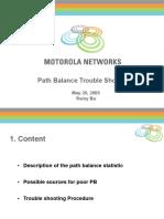 Path Balance Motorola