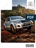 Hilux Dakar Leaflet 2015