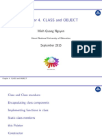 Chapter 4. Class and Object