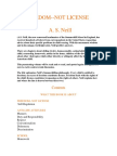 FREEDOM NOT LICENSE - A. S. NEILL.pdf