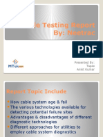 Cable Testing Report