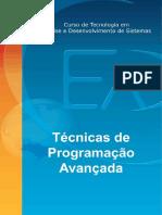 Cursos de Tecnologia em Analise de Desenvolvimento de Sistemas - Tecnicas de Programação Avançada.pdf