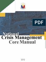 National Crisis Management Core Manual 2012