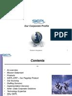 SIEPL-Brief Corporate Profile
