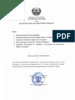 Circular 25-CSMMP-S-2015 Sintese Das Deliberecaoes Xv Sessao Ordinaria Da CP