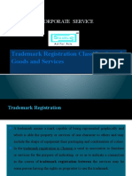 Trademark Registration Classification of Goods and Services