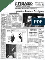Figaro 19910516 Cresson