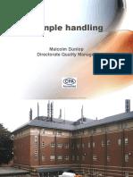 Laboratories Sample Handling