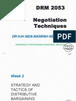 Negotiation technique chapter 2