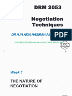 Negotiation technique chapter 1