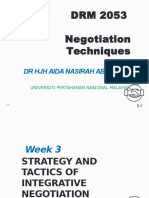 Negotiation technique chapter 3
