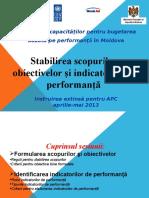 Sesiunea 3 Scop Obiective Indicatori