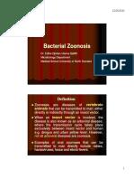 Tmd 176 Slide Bacterial Zoonosis