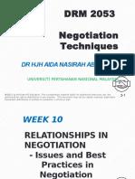 Ana Negotiation w10