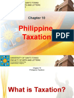 Chapter 10 - Philippine Taxation