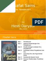 Filsafat Sains - Drs. Hamdani,M.A