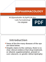 k3 - OPTHALMOPHRMACOLOGY