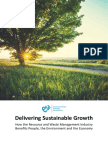 Delivering Sustainable Growth