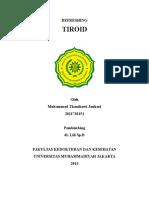 Cover Tiroid
