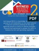 RCLS 2013 Brochure