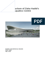 Steel Structure of Zaha Hadid
