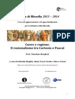 Filosofia2013 Borghesi Il Razionalismo Tra Cartesio e Pascal1