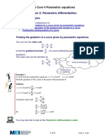 Parametric Differention