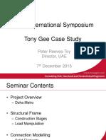 Tony Gee Midas Presentation