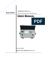 Gasboard 3100P User Manual