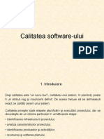 Calitatea Software Ului
