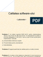 Calitatea Software-ului (Lab)
