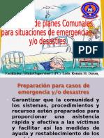 Elaboracion de Planes Comunales de Emergencia