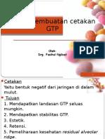 2. Prinsip Pembuatan Cetakan GTP