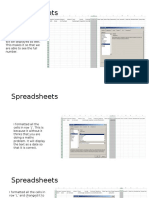 spreadsheets analysis learning aim b