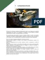 09. La Experiencia Pascual - Comentarios de Teología Emergentista