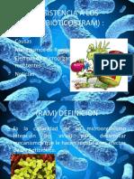 Resistencia a Los Antibióticos (Ram)