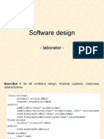 Software Design (Lab)