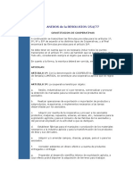 Cooperativas - Anexo 254