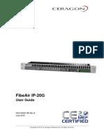 Ceragon FibeAir IP-20G User Guide 8.0 Rev A