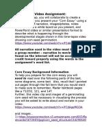 corn essay background information2016