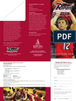 2016 Ripon College Summer Camp Brochure