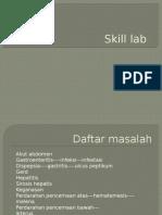 Asistensian Skill Lab Topik Anamnesis Abdomen Blok 9