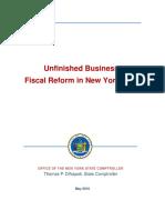 DiNapoli Fiscal Reform Report