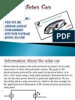 Introduction Of Solar Car