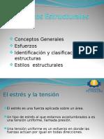 Esfuerzos Deformacion Identificacion y Clasificacion de Estructuras