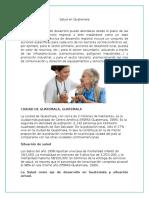 Salud en Guatemala