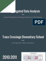 disaggregated data analysis